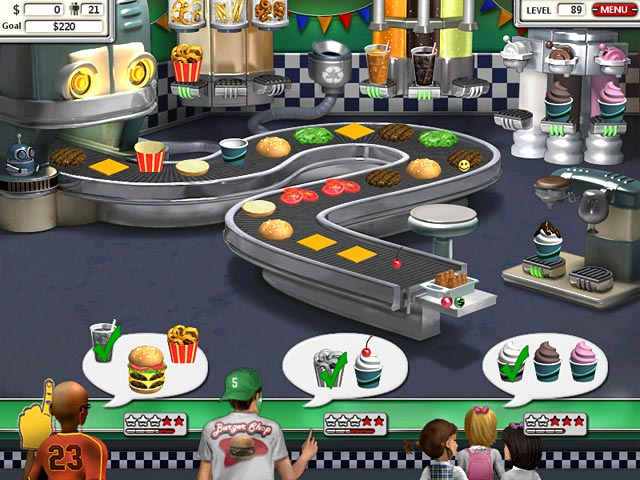 Игра бургер шоп скачать на компьютер