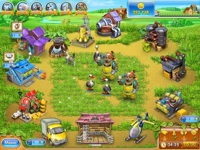 Развивающая игра веселая ферма