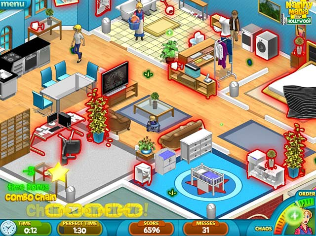 Nanny mania is a simulation game where gamers take on the role of an overworked nanny