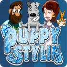 Скачать бесплатную флеш игру Puppy Stylin`