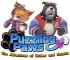 Скачать бесплатную флеш игру Puzzling Paws